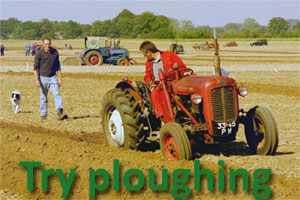 Try Ploughing
