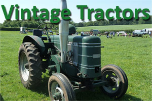 vintage tractors and farm equipment